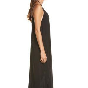 Elan Dresses - Elan black Maxi dress or swim cover up size XS